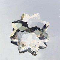 Novo claro octogonal cristal cristal candelabro cristais cristais prismas pingentes pendurados ornamento casa decoração iluminação acessórios 40mm h jllocy