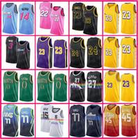 22 Butler 77 Doncic Jersey Luka Miamis Basketball Jimmy Tyler 14 Herro Nikola Jamal Jokic 27 Murray Bostons Jayson Kevin Tatum Durant Hommes