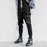 Мужские штаны Drop 2021 хип-хоп мальчик мульти-карманный гарем мужская уличная одежда панк повседневные брюки бегуны мужские лодыжки мужские брюки 1