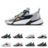 رجالي X9000L4 حذاء رياضة إمرأة أسود بنفسجي أصفر أسود رمادي ستة رمادي وردي الذئب رمادي أسود البرتقال الاحذية