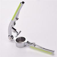 Aglio in acciaio inossidabile Press Multi Funzioni Manuale Cucine Utensili Utensili in lega di zinco Accessori da cucina Garlics Mash Estrusori 6 7RW L1