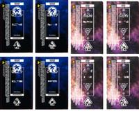 2020 Moonrock Glass Tube Preroll Etichette 2020 Future Dankwoods Barewoods Pre-Roll Joint Tube Packagings