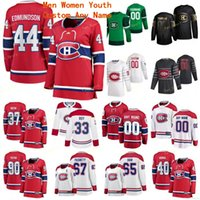 Montreal Canadiens 2020 MENS 44 Joel Edmundson 88 Nate Schmidt 6 Kaiden Guhle Brandon Baddock 17 Josh Anderson Allen Hockey cosido cosido