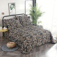 240x260 cm Hohe Qualität Schnee Samt Baumwolle komfortable weiche dicke druckdecke betewread bettblatt / leinen kissenbezüge1