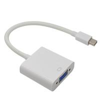 Professionnel Thunderbolt mini Port d'affichage DisplayPort Mini DP To VGA Câble adaptateur pour MacBook Air Pro imac Mac