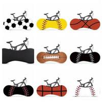 prova Capa de proteção bicicleta Moda Desporto Basquetebol Futebol Printed Elastic motocicleta da bicicleta da poeira Caso Chuva Prevenção Set WY336w