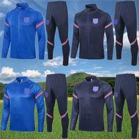 Engla-Londra Kane Sterling Rashford Ceketler Eşofman 2020 21 Maç Öncesi Ceket Eğitim Takım Dele Lingard Futbol Koşu Eğitim Seti