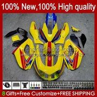 Corpo per Yamaha Thunderiace YZF1000R YZF-1000R 96 97 98 99 00 01 96HC.77 Hot Yellow Light YZF 1000R 02 03 04 05 06 07 1996 1997 2007 Fairing