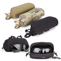 Açık Avcılık Balıkçılık Yürüyüş Güneş Gözlüğü Taktik Çanta Saldırı Savaş Kiti Paketi Taktik Gözlük Gözlük Kılıfı NO17-505