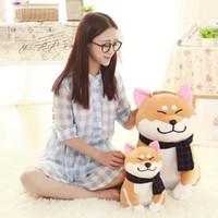 Hunde Simulation Design Schal Modell Puppe weich und bequem Kissen nettes Kind-Plüschspielzeug Geschenk trägt