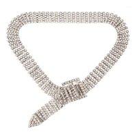 Girodisti di lusso di lusso grande grande strass collana donne chunky wedding jewellery1