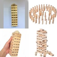 Çocuk Numarası Yapı Taşları Ağaçlık Eko Dostu Jenga Oyuncak Bebek Erken Eğitim Oyuncaklar Yüksek Kalite Yeni Desen 3 4zc J1