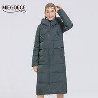 MIEGOFCE Yeni Kadın Kış Koleksiyonu Coat Kadınlar Ceket Ve Parka Basit Sıcak Kış Giyim Moda Windproof Ceket 201012