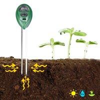 Meters 3-in-1 pH-meter Bodemtest Vocht Licht Tester Tuin Plant Bloemen Monitor Tool Bonsai Analyzer