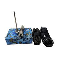 Wood Camo Color E Nail Electric DAB ongle TC Pid Box Plate-forme Dnail Montrer Kit Domeless Titanium Ti Carb Cap Livraison gratuite