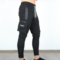 ASRV Осенние мужские брюки Брюки хип-хоп Harem Joggers Брюки Новые мужские брюки Мужские твердые многосмысленные грузовые брюки скинни