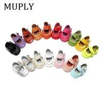 جلد طبيعي الطفل الأخفاف الجانب القوس أحذية جميلة ماري جين الرضع طفل لينة moccs الأميرة سنيكر 201222