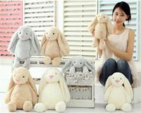 Brinquedo criativo boneca coelho cute coelho 2018 Bonito recheado meninas meninas brinquedos cute 30cm 40cm 50cm presentes de férias de natal