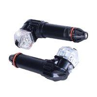أضواء الدراجات الرصاص 1 زوج دراجة مشرق الصمام بدوره تحول تحذير مصباح إشارة الإكسسوارات للماء