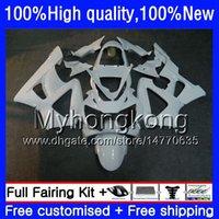 Kropp för Honda CBR900 RR CBR 929 RR CBR 900RR CBR929RR 00 01 50HM.153 CBR 929RR CBR900RR Glossy White Hot CBR929 RR 2000 2001 Fairings Kit