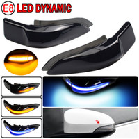 Pour Toyota Corolla Camry Prius Vios Chr Yaris Venza Avalon Altis Altis LED Dynamique Turn Signal Signal Signal SEQUENCE SIDE MIRLOR INDICATEUR