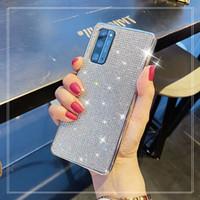 Glitter Platerowanie TPU Full Diamond Bling Case dla Oppo R11 R11s R15 K1 R17 R1 R1 R. R1Z 3 Pro 4 SE ACE 2 A5 A7 A7X A5 2020 A52 A92S A32 A53