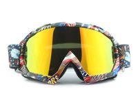 Sıcak satış off-road yarış sürme gözlük gözlük rüzgar geçirmez dış motosiklet motosiklet gözlüğü