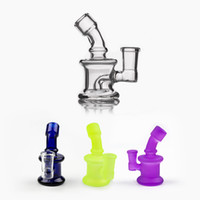 New Design Bongs Mini Glass Bong Water Pipes 14mm Female Joi...