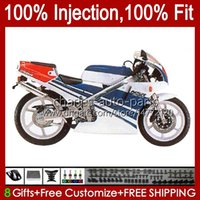 Inyección por HONDA NSR250 R NSR250R BLUE BLANCO MC28 94 95 96 96 1997 1998 1999 102hc.76 NSR 250 R PGM4 250R 1994 1995 1996 97 98 99 Carreyo