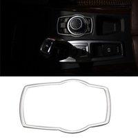 스테인레스 스틸 인테리어 refit 멀티미디어 버튼 BMW x1 x3 x5 x6 F20 F01 F30 F15 F34 F31