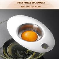 Semplicità Tulo d'uovo Tuorlo e utensili separatori bianchi Gestire facile, comodo da conservare