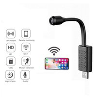Kameras WiFi Smart Video-Endoskop-Überwachungskamera USB-Mini-IP-HD-P2P-CCTV-Cloud-Speicher-AI-Körperkennung