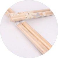 Palo de amasar fibrosidad palillo de madera maciza cilíndrica Hornear primaria de colores naturales de alta calidad del equipamiento casero de cocina 1 7wz F2