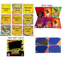 Sıcak Satış 500 mg Doritos Doritos Chip Çanta İlaçlı 420 mg 400 mg Halat Dank Gummies LOL Edites Hashtag Boş Ambalaj Çanta Halat Sakızlı Çanta