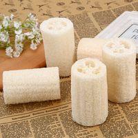 Natürlicher Luffah Luffa-Schwamm mit Luffa für Körper Entfernen Sie die tote Haut und Küchenwerkzeug Badbürsten Massage Badetuch 17 m2