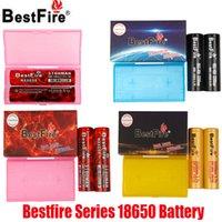 أصيلة Bestfire BMR IMR 18650 البطارية 3100mAh 60A 3200 مللي أمبير 40A 3500 مللي أمبير 35a 3.7 فولت قابلة للشحن الليثيوم vape mod البطاريات 100٪ حقيقية