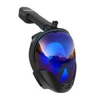 Smaco New Women Homens Máscara Máscara Máscara Máscara Subaquática Anti Nevoeiro Face Full Face Snorkeling Kids Natação Snorkel Mergulho Equipamento