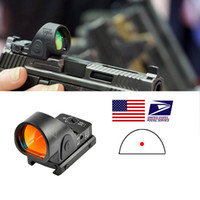 Trijicon Mini RMR SRO RED DOT TOT Sight Collimator винтовка Reflex прицел прицел присвоение 20 мм ткача Rail для Airsoft Hunting Rifl