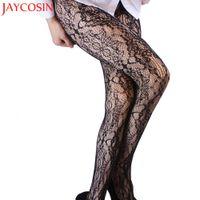 Calcetería de las medias atractivas mujeres Panti medias patrón Mallas Bodys pantimedias seda elástica almacenamiento JN31A Tight