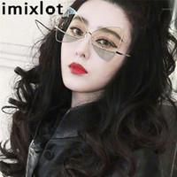 Imixlot старинные треугольные солнцезащитные очки женщины кошка глаз роскошь черная бабочка солнцезащитные очки женский подарок 2020 дамы дизайнерский дизайн1