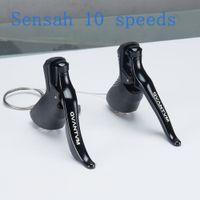 SENSAH 10 Velocidade 4600 4700 alavanca de engrenagem / kit de alavanca de freio (duplo) Highway Shuntai Mudança manual de 10 velocidades