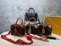 Alta Qualidade Petite Malle Souple Tote Mulheres Crossbody Ombro Bags Designers de Luxo Bolsa Removível Strap Lady Bolsa Carteira Tamanho 20 * 15 * 8cm