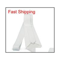 Sublimación en blanco Blanco Corbatas Cuello Niños Niños Ante Corbata Transferencia Corto Impresión en blanco DIY Consumibles personalizados Qylyuj Nana_Shop