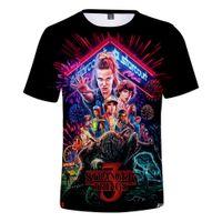 Stranger Things 3 3D T-shirt imprimé pour les garçons / filles / T-shirt Upside Down Eleven T-shirt drôle T-shirts Vêtements Kawaii graphiques