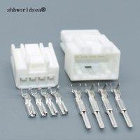 shhworldsaea 936227-1 936238-1 4 Pin Auto Wasserdichter Stecker 4 Pin elektrisch 6.3 Steckerstecker Automotive Wire Stecker