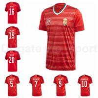 20 21 هنغاريا Soccer Jersey 9 Szalai 17 Varga 16 Patkai 8 Nagy 10 Szoboszlai 16 Botka 21 Bese Home Football Shirt Kits
