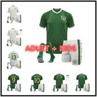Kit d'enfants adulte 2020 2021 Irlande Jersey de football de l'équipe nationale 20 21 Duffy McClean Doherty Hendrick Football Shirt