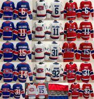 Montreal Canadiens Reverse Retro Hockey 15 Jesperi Kotkaniemi Jersey Brendan Gallagher Carey Prezzo Shea Weber Jonathan Drouin Nick Suzuki