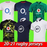 2020 2021 Irlanda Scotland Rugby Jerseys 20 21 Inghilterra Irlanda National Team Rugby Home Court Away Retro League Rugby Shirt POLO S-3XL