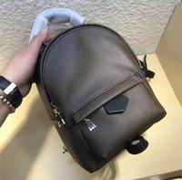 세련된 ladie / 소녀 무료 배송을위한 고급 디자인 최고 품질의 여성의 미니 가방 정품 가죽 PaIm SPRlNGS 가방 필수